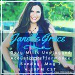 Janelle Grace-Opy Mills Unplugged