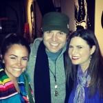 Janelle with Justin in Nashville